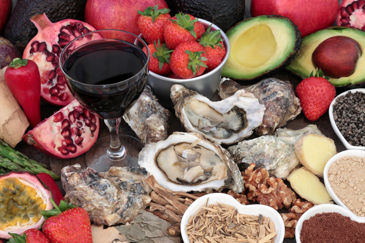 Aphrodisiac foods that can stimulate sexual appetite