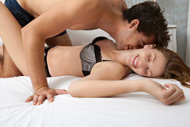Pleasure stop (erogenous zones) in a Women